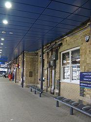 2014 at Reading station - platform 7 new canopy.JPG