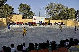 Warta Nabada District - A football match in Warta Nabada District