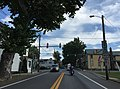 2016-08-25 14 51 27 View east along West Virginia State Route 9 (Hedgesville Road) between Bodine Street and West Virginia State Route 901 (Mary Street) in Hedgesville, Berkeley County, West Virginia.jpg