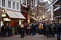 2016-12-31 Silvester Feier am Nachmittag Knochenhauerstraße Hannover Altstadt.jpg