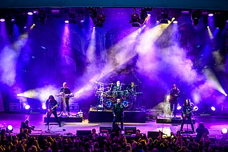 Blind Guardian - Image: 20160515 Gelsenkirchen Rock Hard Festival Blind Guardian 0132
