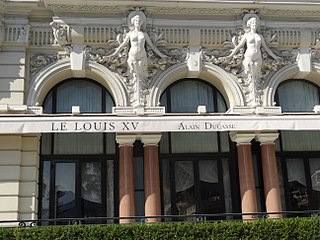 French restaurant in Monte Carlo, Monaco