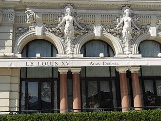Alain Ducasse - Image: 2016 Hotel de Paris Monaco 03 Restaurant Louis XV