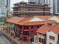 2016 Singapur, Chinatown, Ulica South Bridge, Domy-sklepy (05).jpg