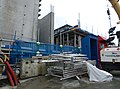 2016 Woolwich Crossrail station construction site 06.jpg