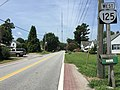 2017-07-13 12 01 40 View west along Virginia State Route 125 (Kings Highway) at Driver Lane in Suffolk, Virginia.jpg