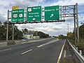 2017-10-06 15 02 48 View north along U.S. Route 1 (Trenton Freeway) at the exit for Mulberry Street in Trenton City, Mercer County, New Jersey.jpg