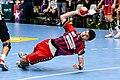 20180330 OEHB Cup Semi Finals - HBA Fivers Margareten vs. Alpla Hard - Valentin Buchner 850 5582.jpg
