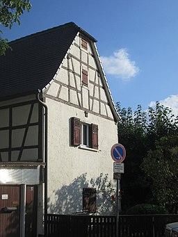 Forsthausstraße in Schwetzingen