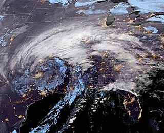 2020–21 New Years North American storm complex