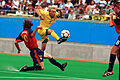 221000 - Football David Barber action - 3b - Sydney 2000 match photo.jpg
