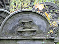 251012 Detail of tombstones at Jewish Cemetery in Warsaw - 17.jpg