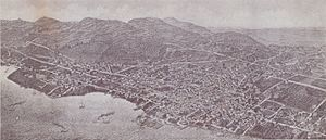 Nyack, New York - View of Nyack, ca. 1898