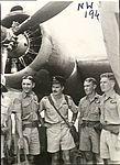 2 Squadron RAAF Hudson aircrew Hughes NT Mar 1943 AWM NWA0192.jpg