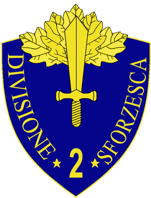2nd Infantry Division Sforzesca - 2nd Infantry Division Sforzesca Insignia