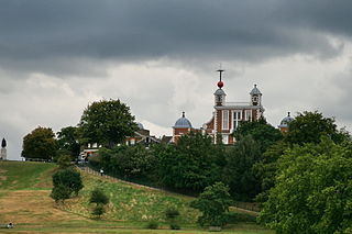 town in south-east London, England