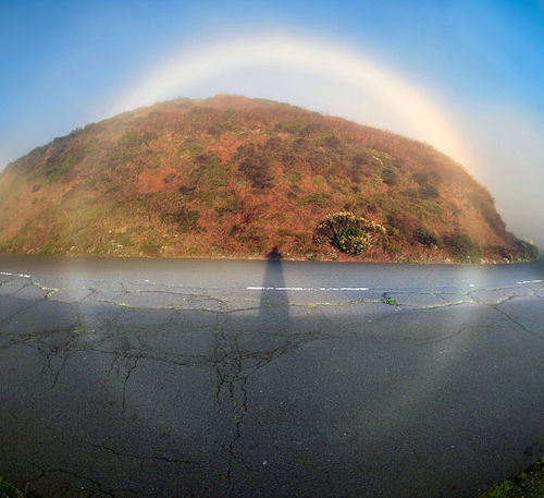 360 degrees fogbow