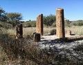 3 monument of standing stones - Botswana Bot Gardens 1.jpg