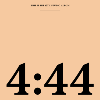 <i>4:44</i> 2017 studio album by Jay-Z