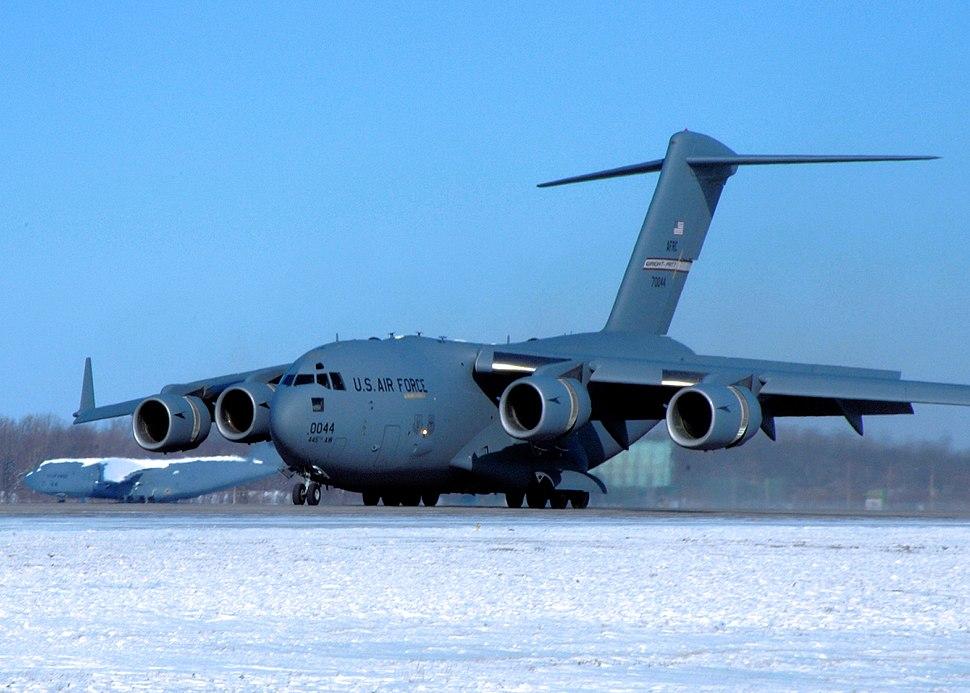 445th Airlift Wing - Boeing C-17A Lot IX Globemaster III 97-0044