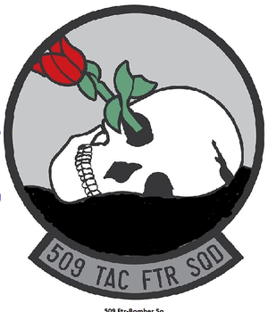 509th Tactical Fighter Squadron - Emblem of the 509th Tactical Fighter Squadron