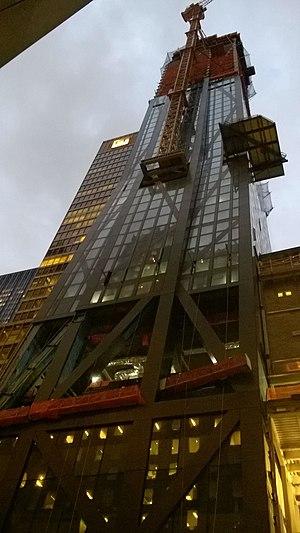53W53 - 53W53 under construction, November 3, 2017.