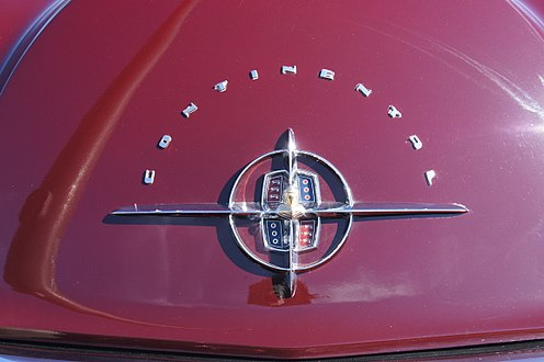 continental division emblem on rear trunklid mark ii