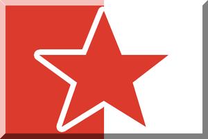 Nemzeti Bajnokság I (men's handball) - Image: 600px Bianco e Rosso con stella Rossa