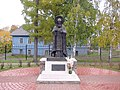721. Pechory. Monument to Korniliy of Pskov-Pechora.jpg