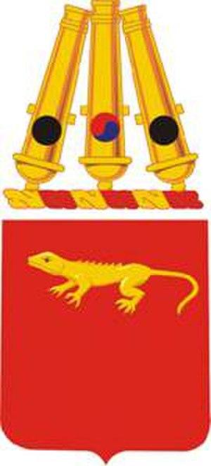 75th Field Artillery Regiment - Coat of arms