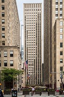 75 Rockefeller Plaza Office skyscraper in Manhattan, New York