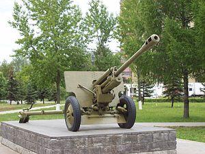 76 mm divisional gun M1942 (ZiS-3) - ZiS-3 in Nizhny Novgorod, Russia
