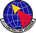 87 Contracting Sq emblem.png