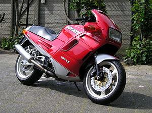 Ducati Paso - A 1993 Ducati 907 i.e.