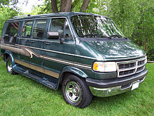 Full Size Dodge Ram Van In The United States
