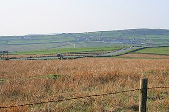 Staffordshire Moorlands - Moors located within the district
