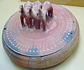 AGMA Pyxis with Lid with Three Terracotta Horses.jpg