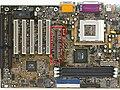 AGP slot highlighted on Soyo SY-7VBA133 mainboard.jpg