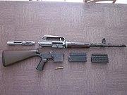 AR10 Armalite vue démontée