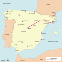Madrid–Barcelona high-speed rail line - Wikipedia