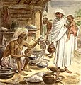 A Bengali Beniah or Grain seller, from the Illustrated London News, 1874 with later hand colouring.jpg
