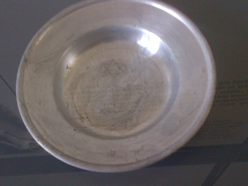 File:A Dachau prisoner's eating bowl with a Magen David sign.jpg