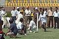 A game of Kho-Kho in progress at the Sports meet for Parliamentarians and Media Persons, in New Delhi on August 30, 2005.jpg