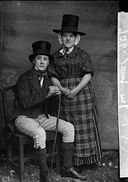 A man and a woman in national dress (Jones) NLW3362599.jpg