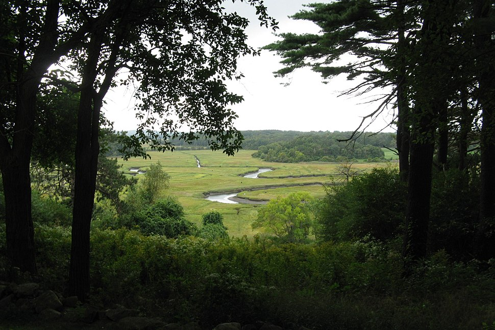 A view from Castle Hill, Ipswich MA