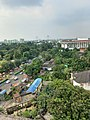 A view of Kolkata captured from the University of Calcutta Alipore campus showing the Taj Bengal Hotel and the Vidyasagar Setu.jpg