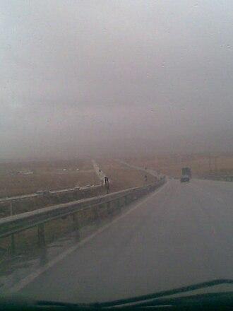 Road 65 (Iran) - Image: Abadeh Shiraz HW5