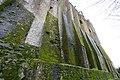 Abbey - Mont Saint Michel Abbey walls (32800835391).jpg