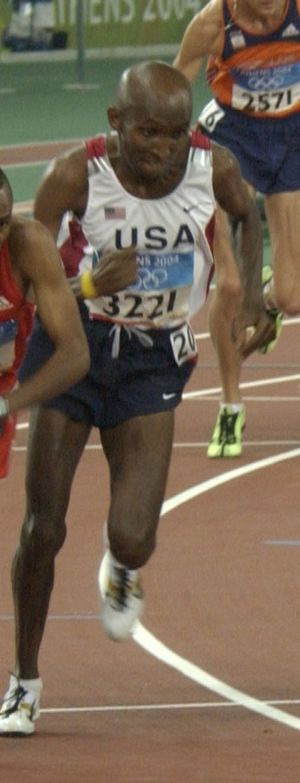 Abdihakem Abdirahman - Abdihakem Abdirahman at the 2004 Olympics.
