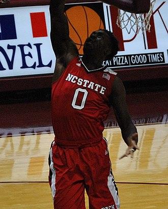 Abdul-Malik Abu - Abu playing for NC State